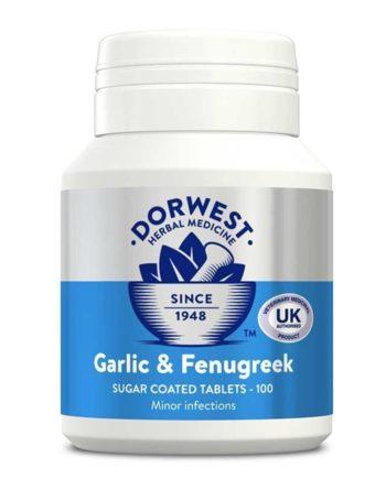 Dorwest Garlic and Fenugreek tablets