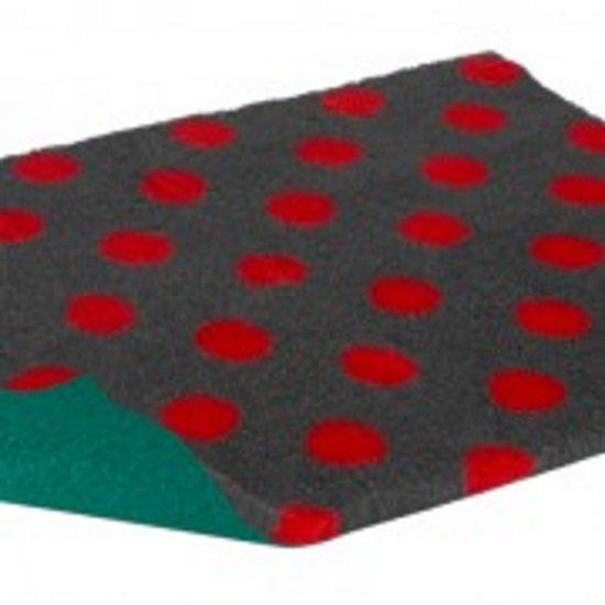 petlife vetbed original red dots