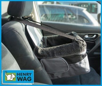 Henry Wag Car Dog Booster Seat