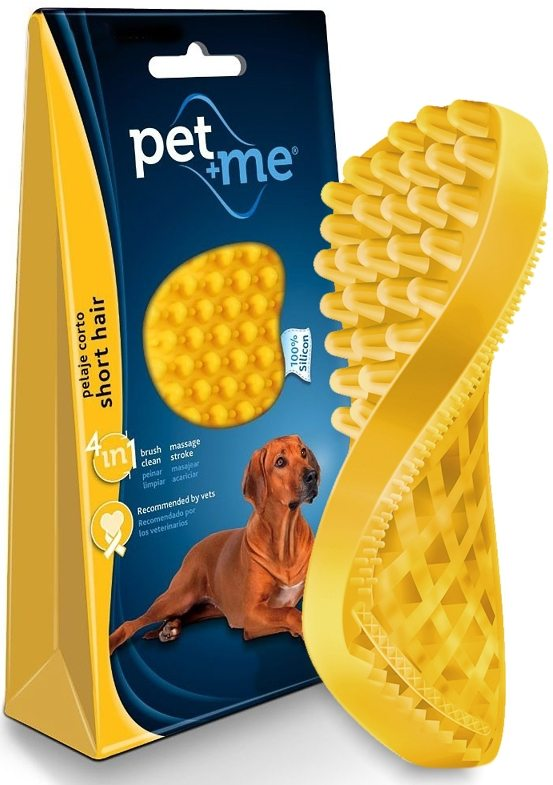 Pet Me Grooming brush for short haired dogs