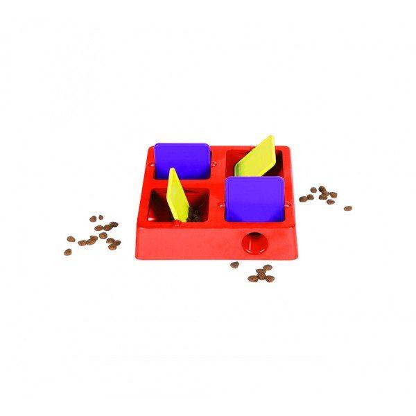 Tic-Tac-Twirl dog game